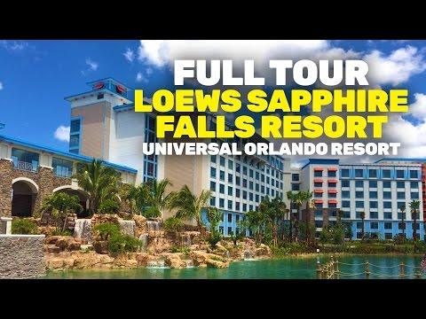 NEW Loews Sapphire Falls Resort full walkthrough tour at Universal Orlando