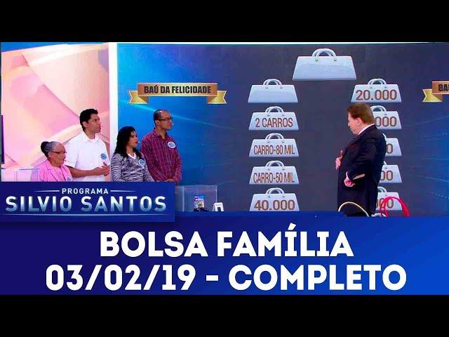 Bolsa Família - Completo | Programa Silvio Santos (03/02/19)