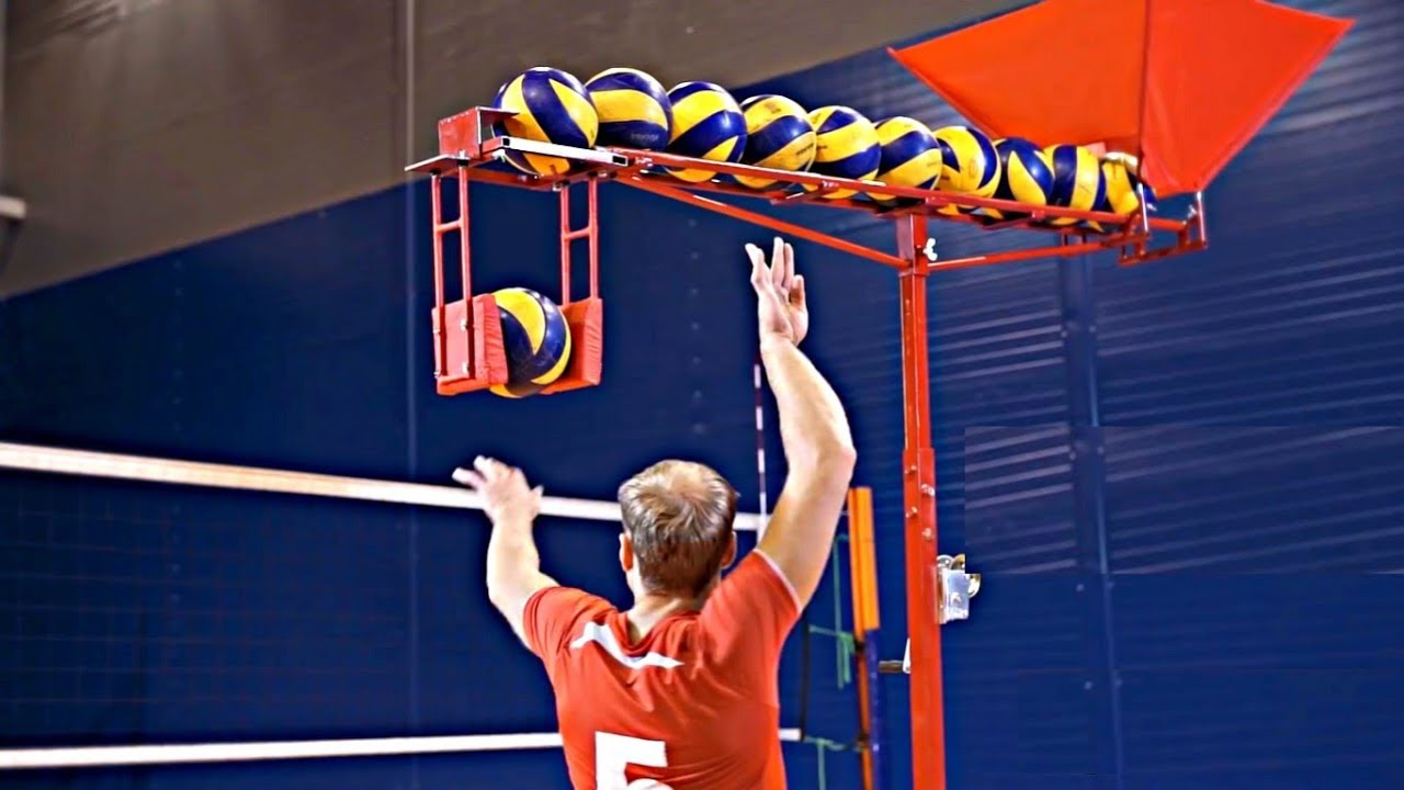 Best Volleyball Training Machines Hd Youtube