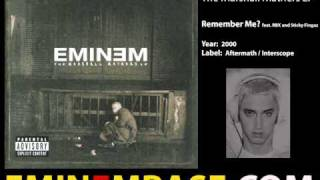 Eminem - Remember Me (feat. RBX and Sticky Fingaz)