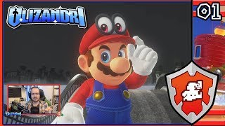 Super Mario Odyssey - Bowser's Wedding Plans, Mario & Cappy's Odyssey Begins! - Episode 1