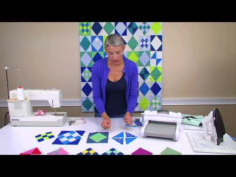 One Die Can Do What? The Victoria Findlay Wolfe Quilts Diamond Sampler | Sizzix Quilting