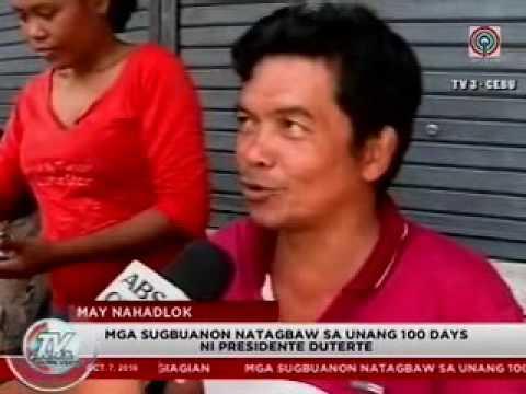 TV patrol Central Visayas - Oct 7, 2016