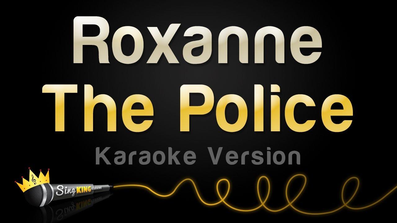 The Police - Roxanne (Karaoke Version)