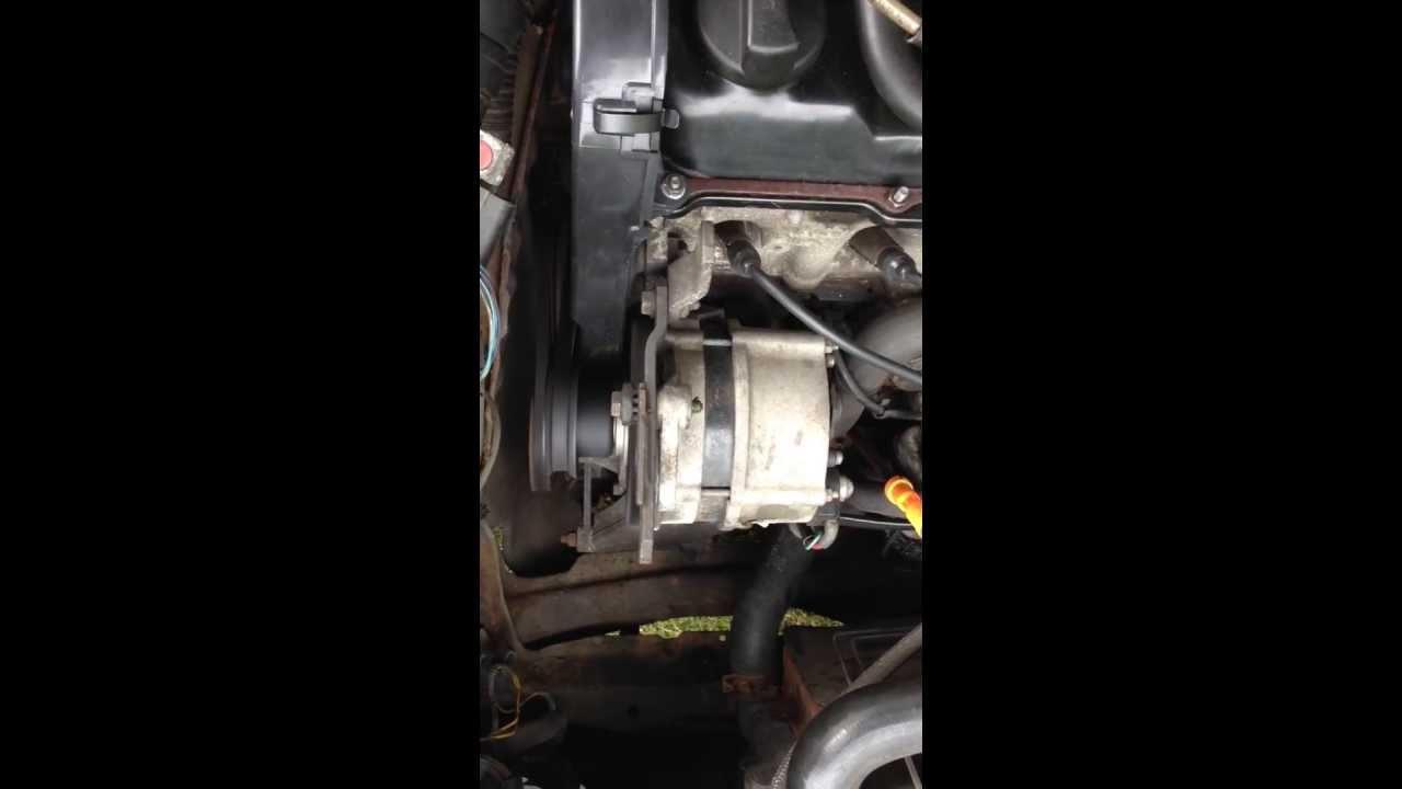 Vw Golf Mk2 Gti Oil Pump Noise Diagnosed Youtube