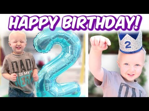 Duncan's 2 Year Old BIRTHDAY SPECIAL!