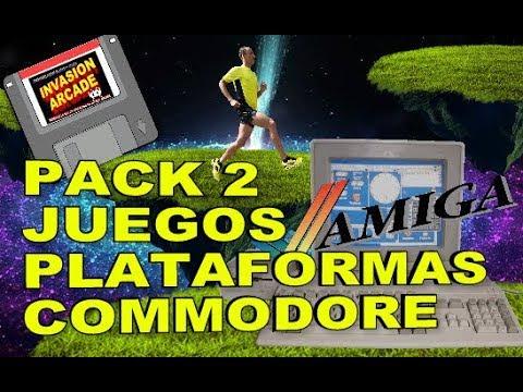 PACK Nº2 JUEGOS PLATAFORMAS(COMMODORE AMIGA)AÑOS 90