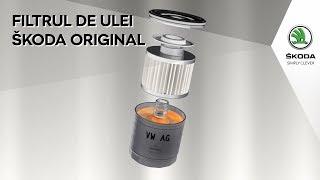 Filtrul de ulei Original Skoda - Test comparativ