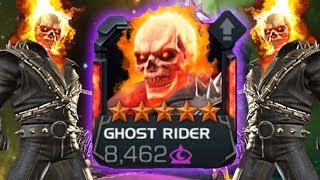 5 Star Ghost Rider Rank Up & Gameplay - Marvel Contest Of Champions