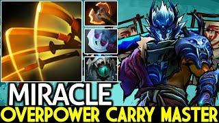 Miracle- [Juggernaut] Overpower Carry Master Pro Gameplay 7.21 Dota 2