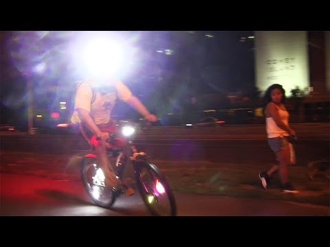 Bike Lights in Various Lighting Conditions ( NiteFlux, Dinotte, etc )