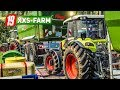 ls19 xxs farm 2 die erste raps ernte mit 2 dreschern farming simulator 19
