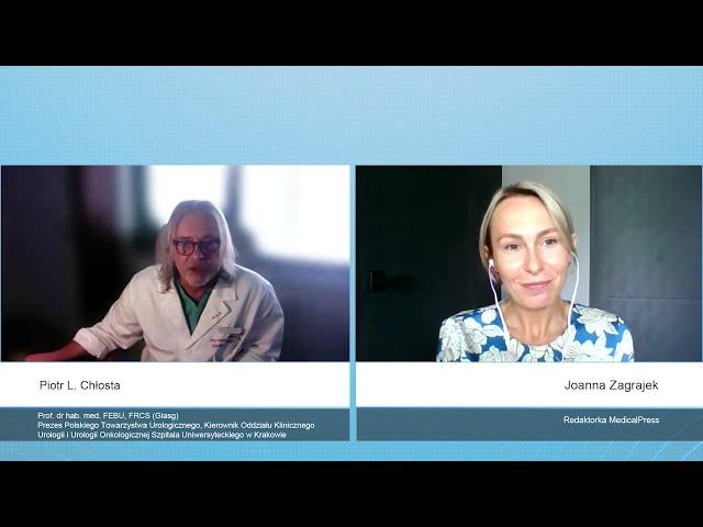 Nowotwór prostaty - objawy, profilaktyka i diagnostyka - rozmowa z profesorem Piotrem Chłostą