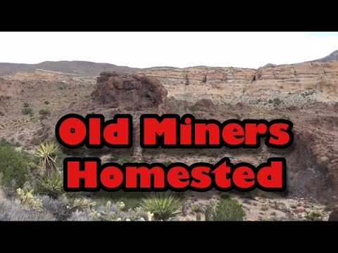 Old Homested @ Cuesta Fire Agate Mine Oatman, AZ - Mining America Ep20B ~ 10/23/2016