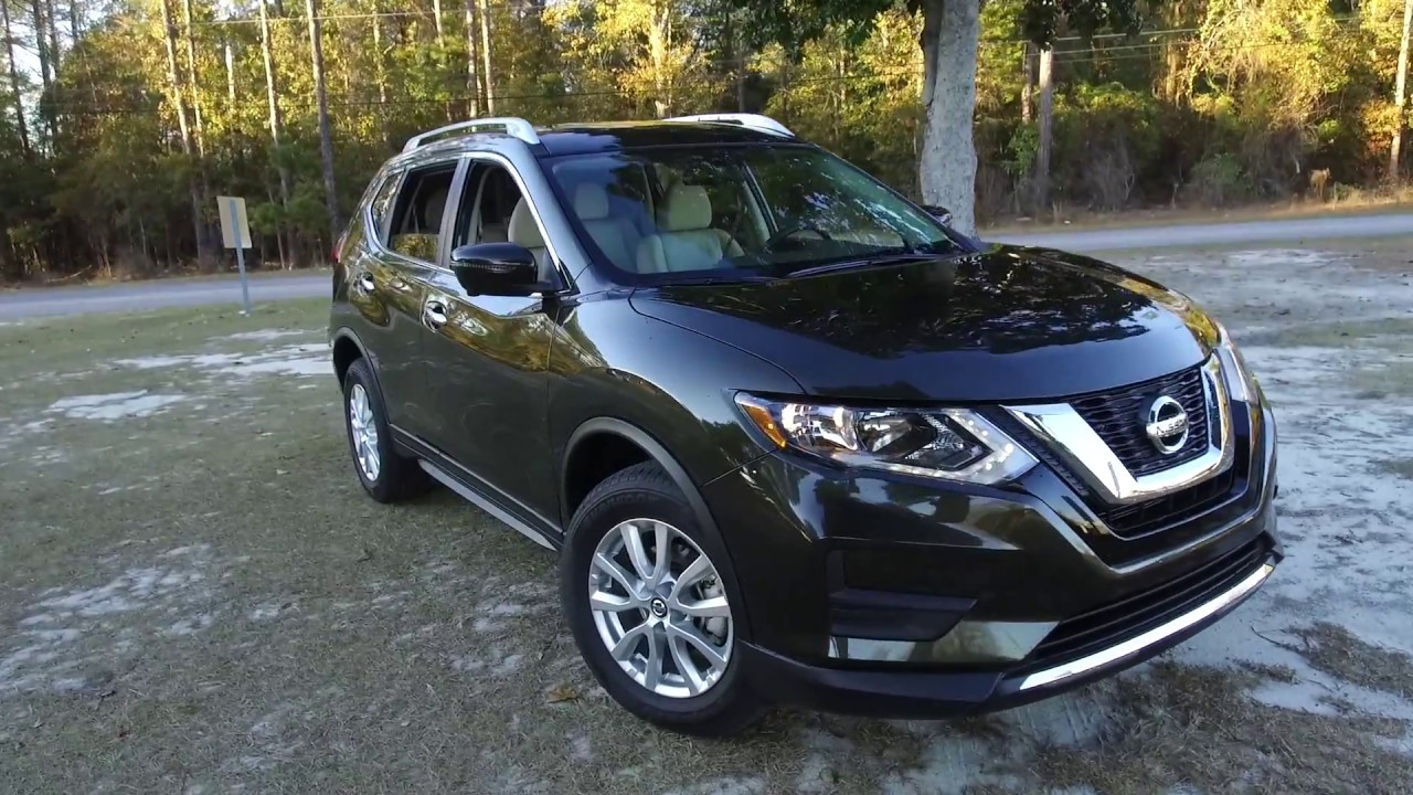 2018 Nissan Rogue >> Best Detailed Walkaround 2017 Nissan Rogue SV AWD - YouTube