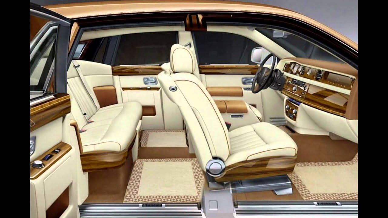 rolls royce car view inside - youtube