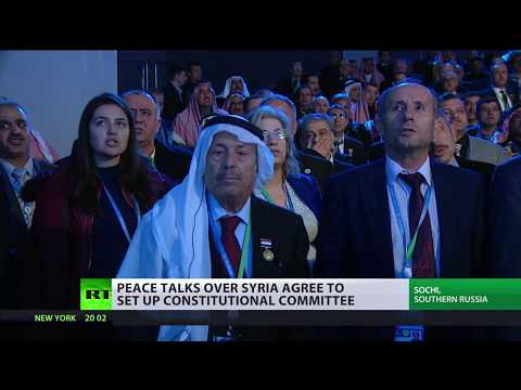 Laying foundation for peace: Various factions of Syrian society gather in Sochi
