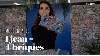 Elle fabrique des briques en textile recyclé pour lutter contre la fast fashion