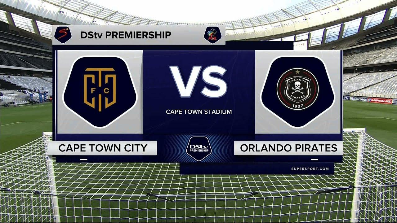 Download DStv Premiership   Cape Town City v Orlando Pirates   Highlights