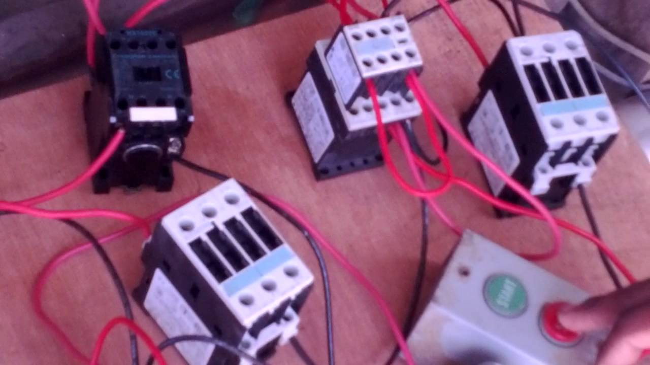 How To Wire Contactors And Auxiliaries