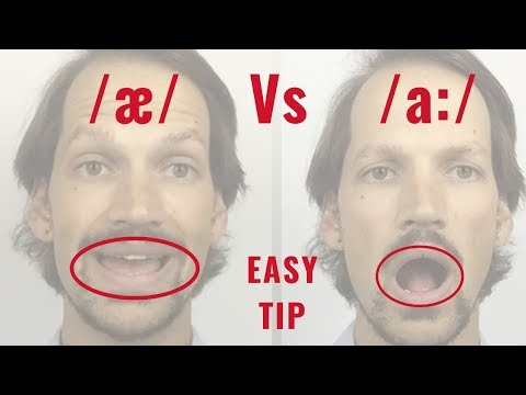 DO THIS to learn /æ/ Vs /a:/