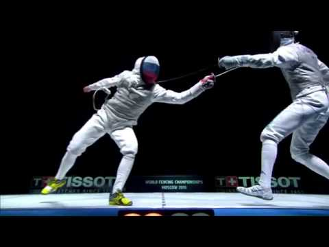 Italia vs Russia 2015 Moscow world Championship men's foil  team final