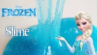 Como hacer SLIME o BLANDIBLU de Frozen con glitter o purpurina