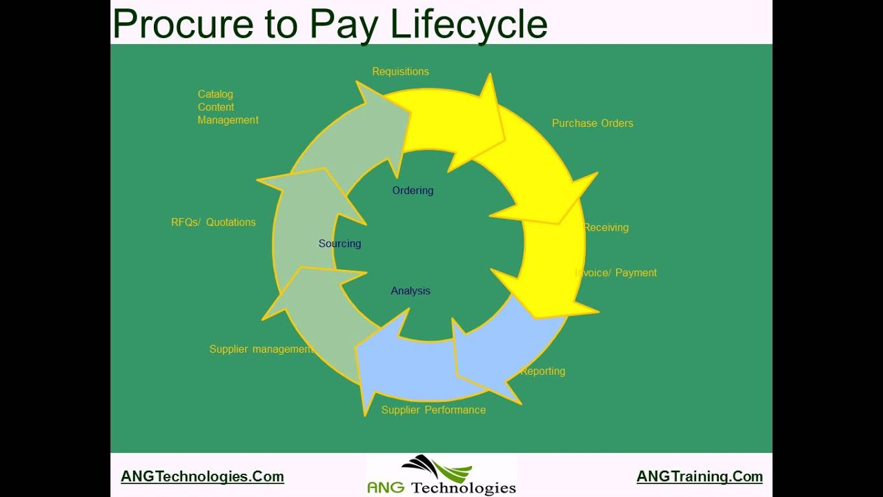 Procure to Pay Demo ANG - YouTube