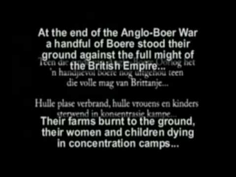 Boer War Delarey Song   with English subtitles