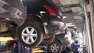 Замена катализатора на пламегаситель на Nissan Teana.Установка пламегасителя.(Замена катализатора на пламегаситель на Nissan Teana.Установка пламегасителя. Замена двух гофр , замена катализа..., 2013-10-22T08:17:18.000Z)