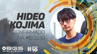 CONFIRMADO NA #BGS10, HIDEO KOJIMA MANDA RECADO AOS FÃS