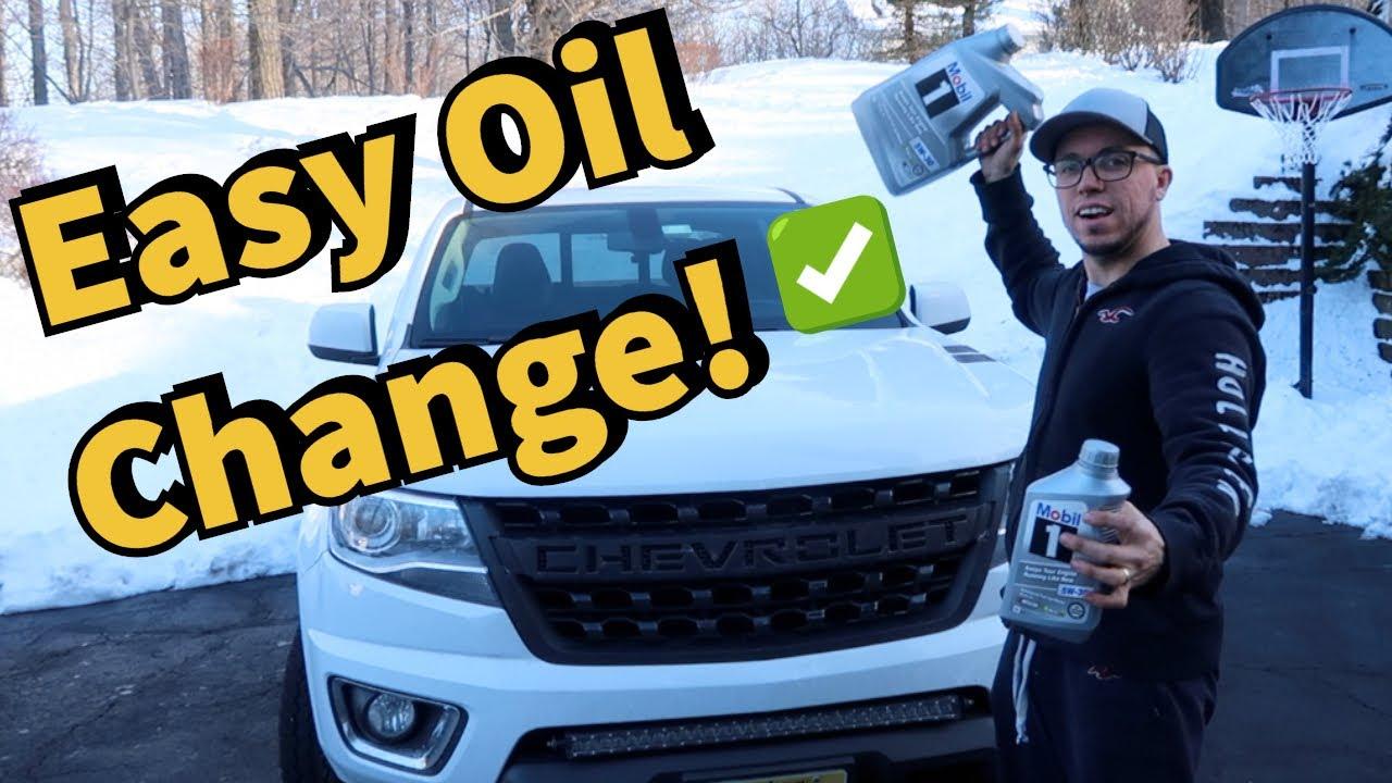2017 2019 Chevy Colorado Gmc Canyon 3 6l Lgz V6 Diy Oil Change