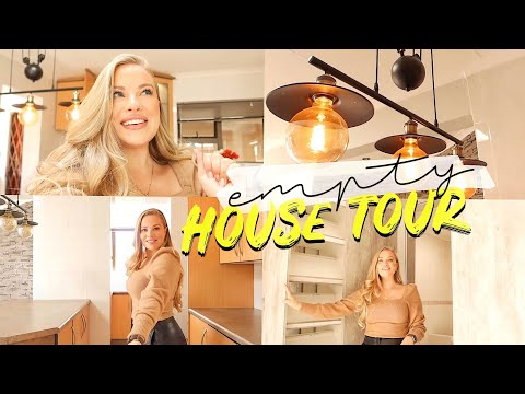 WE BOUGHT A NEW HOUSE: Empty House Tour & My Plans for the Renovations and Décor