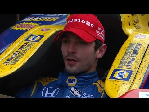 Indianapolis 500 | Rookie Alexander Rossi Wins Running on Fumes