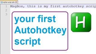 How To Autohotkey Script