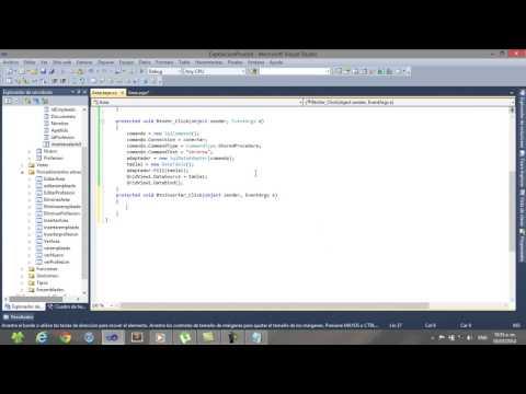 procedimientos almacenados en c# asp.net