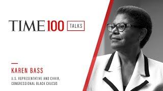 Congresswoman Karen Bass I TIME100 Talks