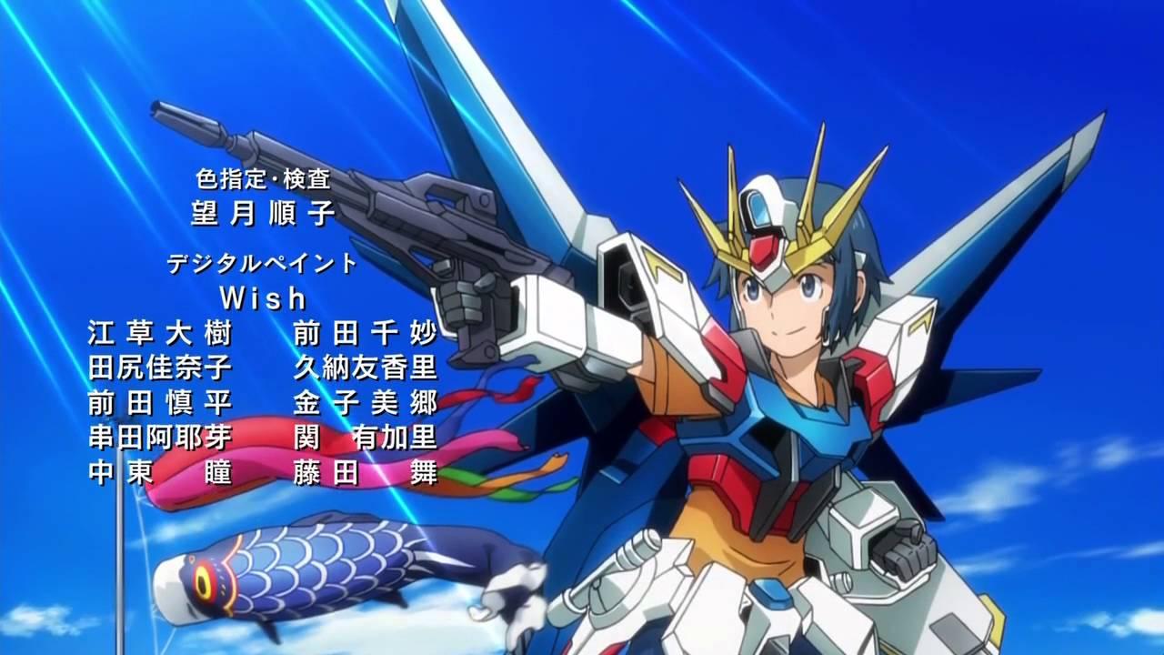 Gundam build fighters ending 1 youtube for Domon in gundam build fighters