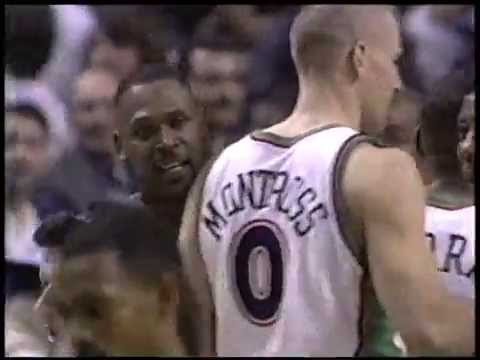Glenn Robinson - 1995 NBA Rookie Game Highlights