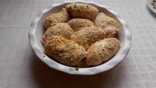 Кордон Блю рецепт Куриные рулетики с ветчиной и сыром Вкусно и быстро для праздника или ужина