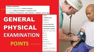 General Examination | General Physical Examination |General Examination of Patient| Learning Spindle