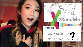 AM I NORTH KOREAN? JAPANESE? EUROPEAN?! | MY 23ANDME RESULTS