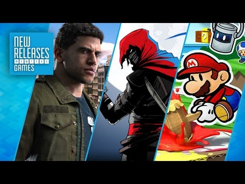 Mafia 3, Aragmi, Paper Mario Color Splash, WRC 6 and Vermintide! - New Releases