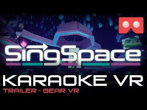 Trailer SingSpace - Karaoke em VR  para Gear VR