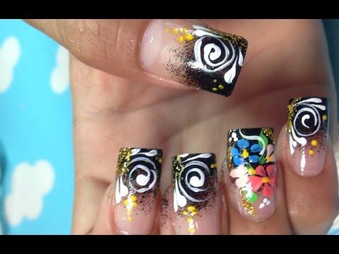 simple easy nail art paint ideas  pretty cute nail art