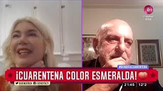 ¡Cuarentena color esmeralda!