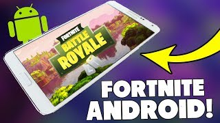 FORTNITE on ANDROID 🔥 😍 available TO DOWNLOAD NOW ?? ❌ Fortnite ANDROID version English
