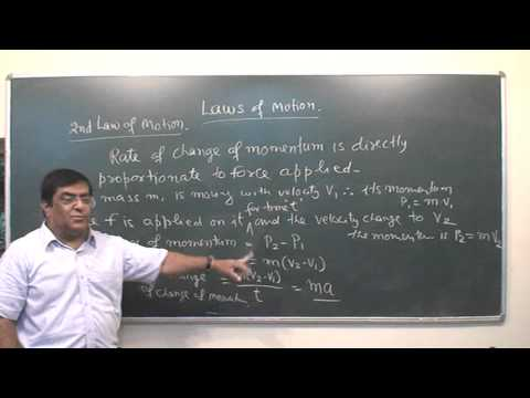 XI 36 Laws of motion Part 1