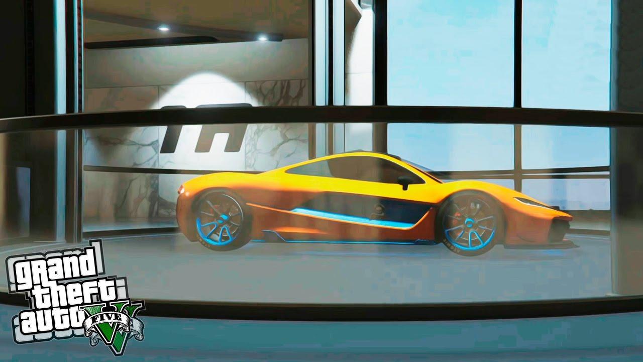 Gta 5 mi nuevo garaje de 60 coches nuevo dlc gta v for Garaje de coches