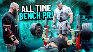 ALL TIME BENCH PR!